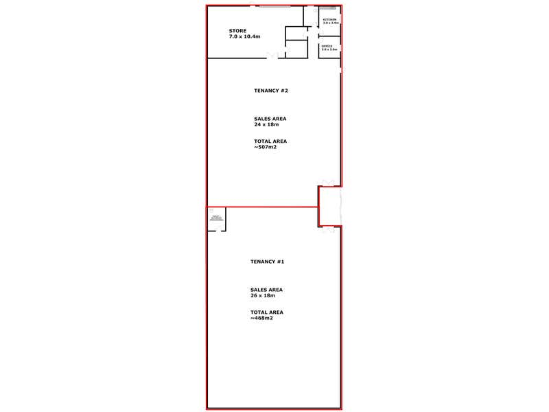 Tenancy #2, 43 Edinburgh Street Port Lincoln SA 5606 - Floor Plan 2
