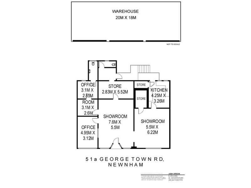 51A George Town Road Newnham TAS 7248 - Floor Plan 1