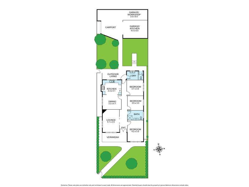 105 - 107 St Georges Road Northcote VIC 3070 - Floor Plan 1