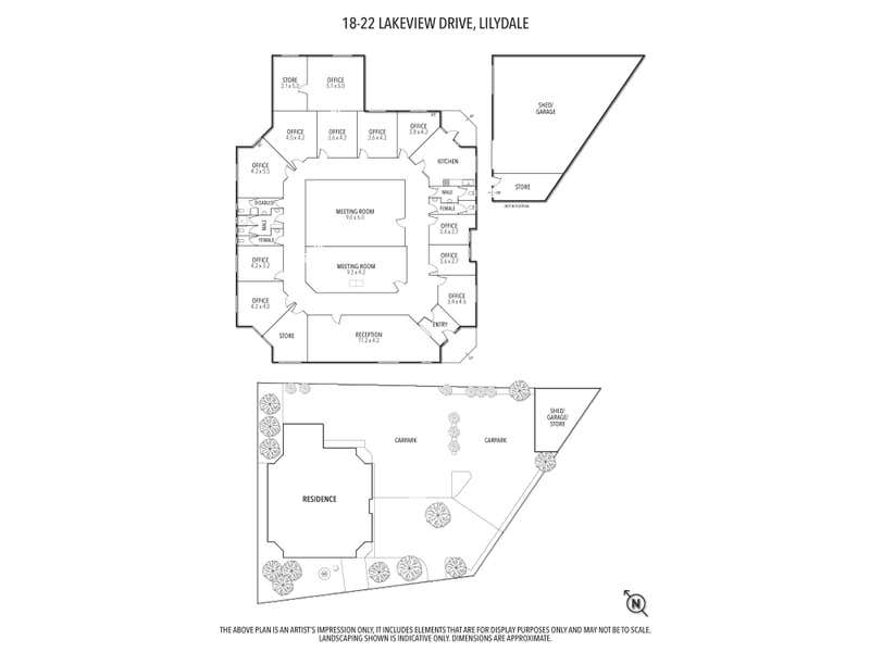 18-22 Lakeview Drive Lilydale VIC 3140 - Floor Plan 1