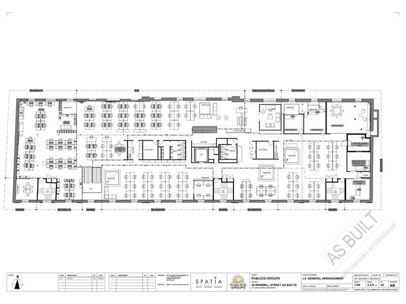 Bond Store 3, 28-30 Windmill Street Millers Point NSW 2000 - Floor Plan 2