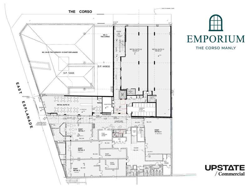 Shops 1&2/6 The Corso Manly NSW 2095 - Floor Plan 1