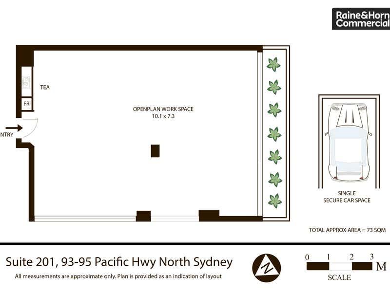 201/93-95 Pacific Highway North Sydney NSW 2060 - Floor Plan 1