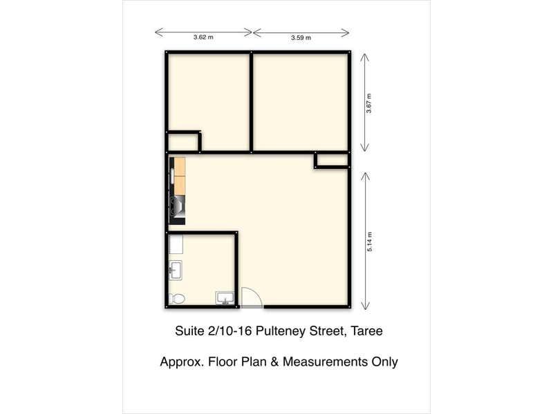 Suite 2/10-16 Pulteney Street Taree NSW 2430 - Floor Plan 1