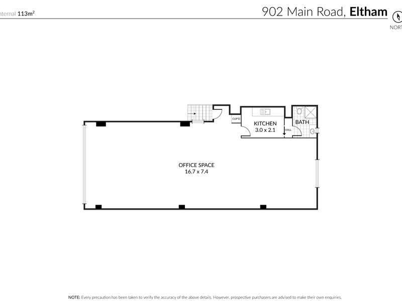 Level 1, 902 Main Road Eltham VIC 3095 - Floor Plan 1