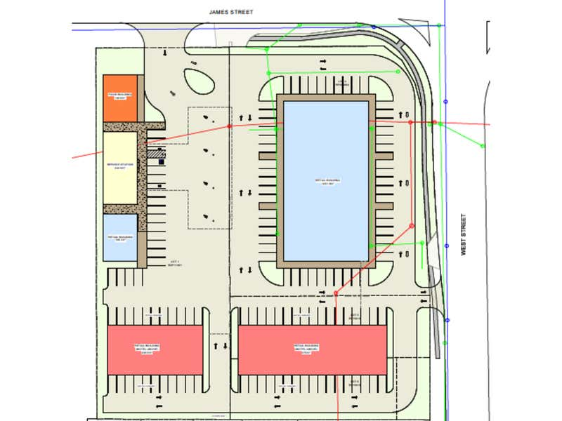 183-189 West Street Harristown QLD 4350 - Floor Plan 1