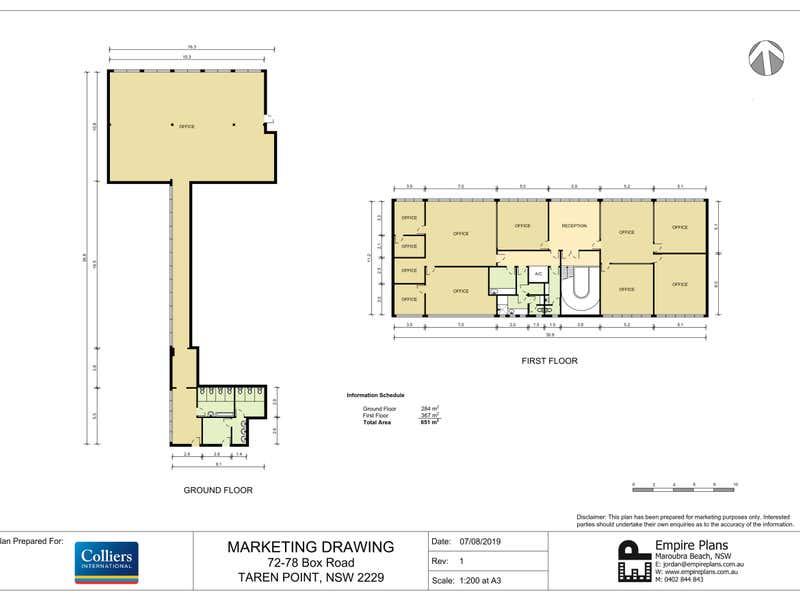 72-78 Box Road Taren Point NSW 2229 - Floor Plan 1