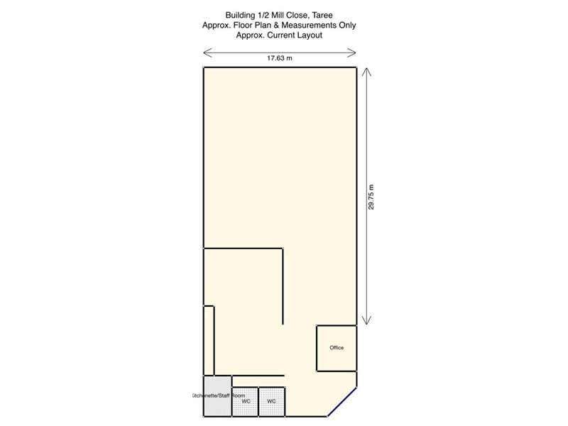 Building 1/2 Mill Close Taree NSW 2430 - Floor Plan 1