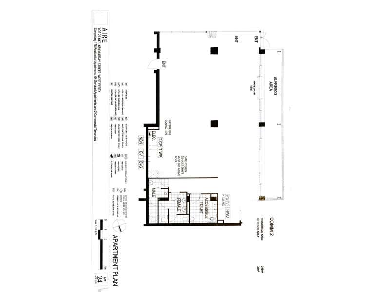 AIRE, 659 Murray Street West Perth WA 6005 - Floor Plan 1