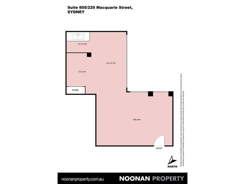 William Bland Centre, 605/229 Macquarie Street Sydney NSW 2000 - Floor Plan 2