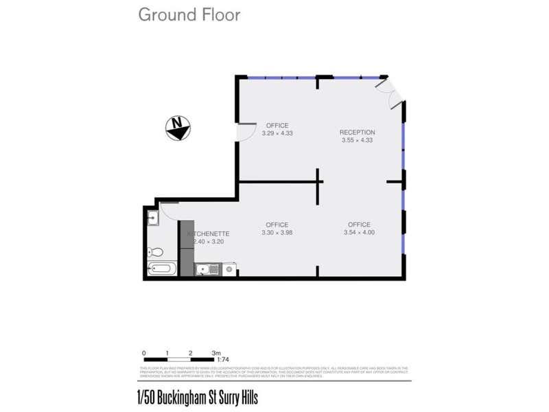 Rinview, Level 1, 50 Buckingham Street Surry Hills NSW 2010 - Floor Plan 1