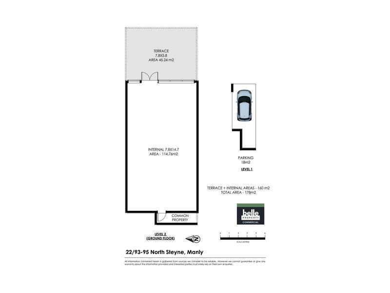 22/93-95 North Steyne Manly NSW 2095 - Floor Plan 1
