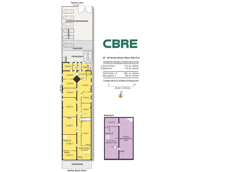 36-38 Henley Beach Road Mile End SA 5031 - Floor Plan 1