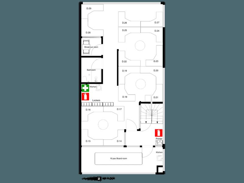 Positive Energy Places, 490 Spencer Street West Melbourne VIC 3003 - Floor Plan 2