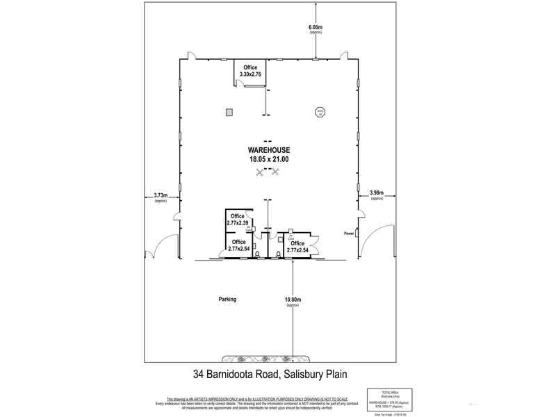 34 Barndioota Road Salisbury Plain SA 5109 - Floor Plan 1