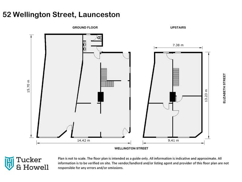 52 Wellington Street Launceston TAS 7250 - Floor Plan 1