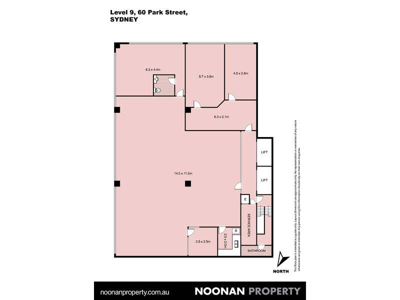 Level 9, 60 Park Street Sydney NSW 2000 - Floor Plan 2