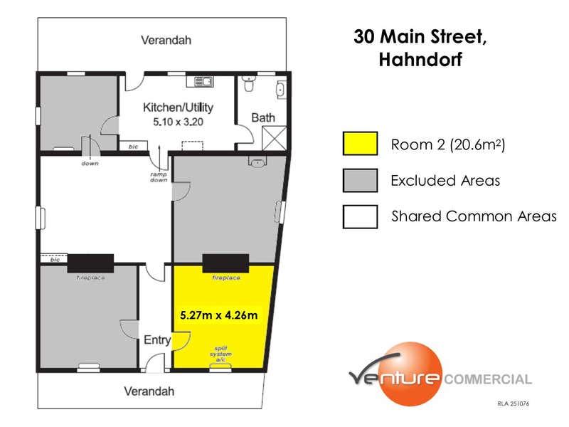 Room 2, 30 Mount Barker Road Hahndorf SA 5245 - Floor Plan 1