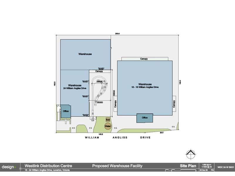 A & B, 24 William Angliss Drive Laverton North VIC 3026 - Floor Plan 2