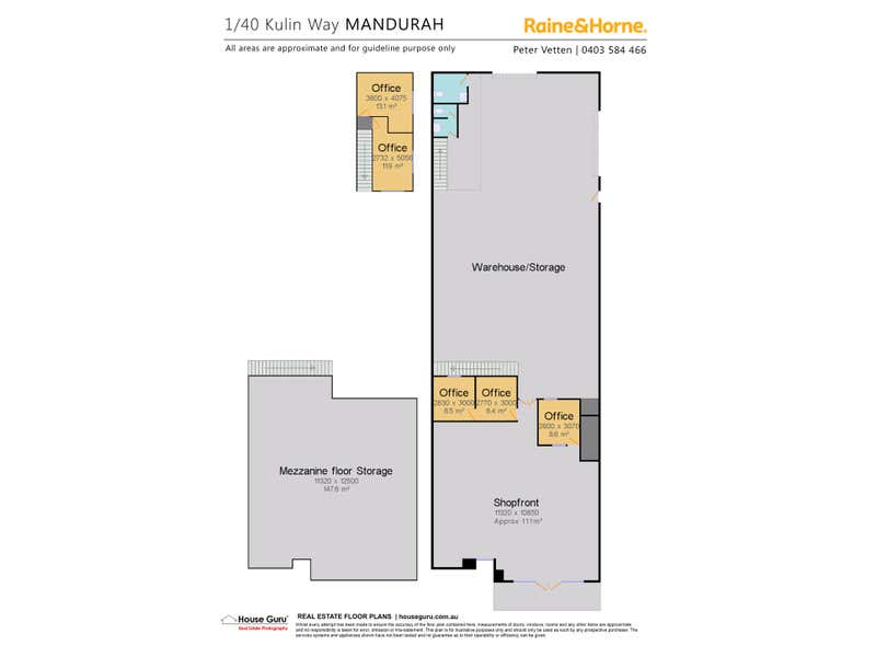 1/40 Kulin Way Mandurah WA 6210 - Floor Plan 1