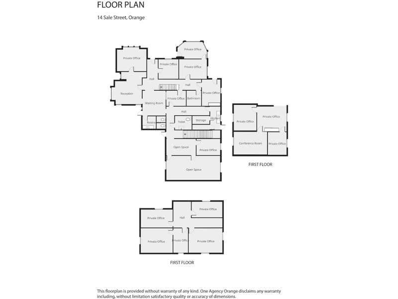 14 Sale Street Orange NSW 2800 - Floor Plan 1