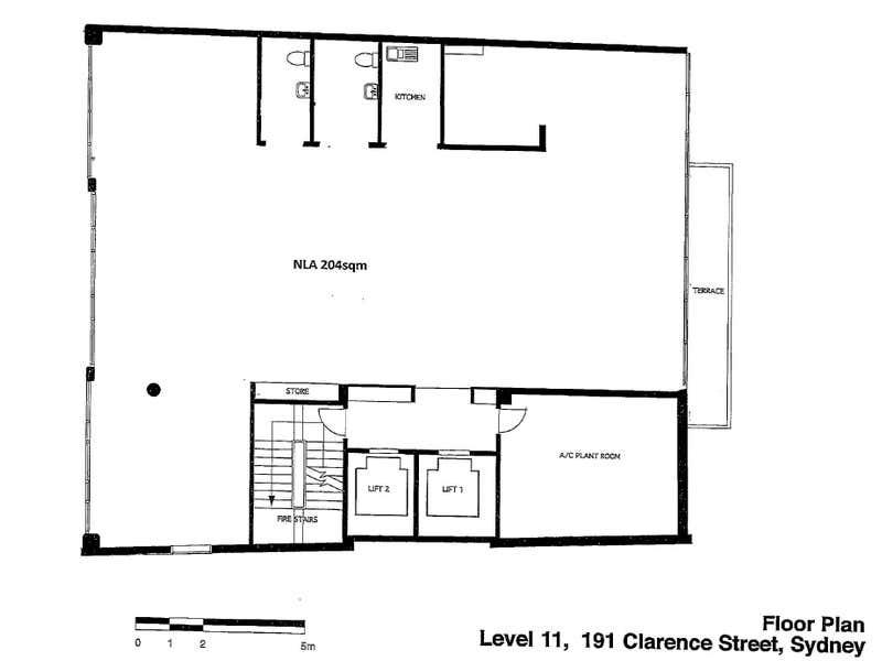 Level 11, 191 Clarence Street Sydney NSW 2000 - Floor Plan 2