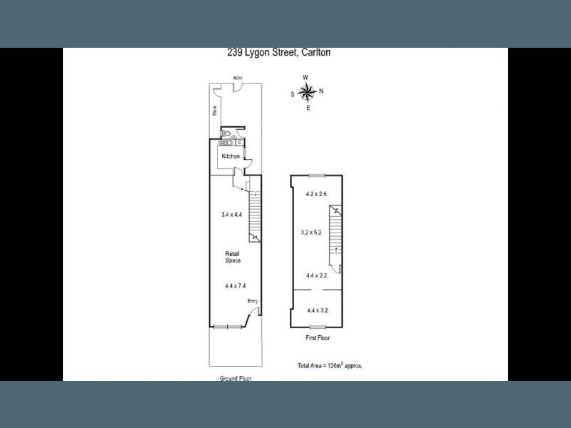 239 Lygon Street Carlton VIC 3053 - Floor Plan 1