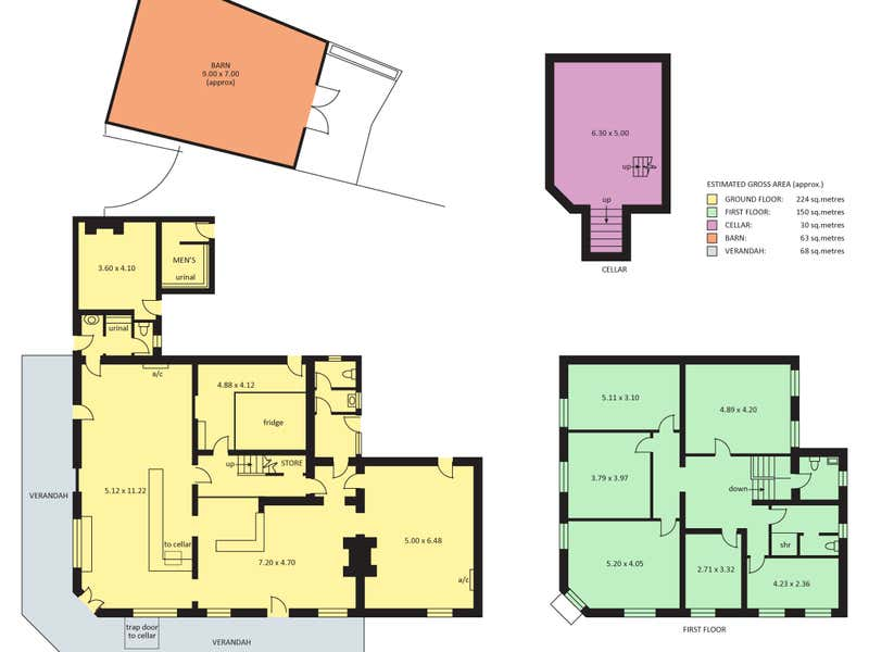 Overway Hotel, 27  Eighteenth Street Gawler SA 5118 - Floor Plan 1