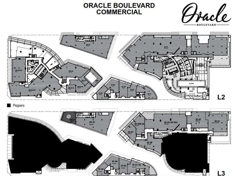 Oracle Boulevard , 19 Elizabeth Avenue Broadbeach QLD 4218 - Floor Plan 2