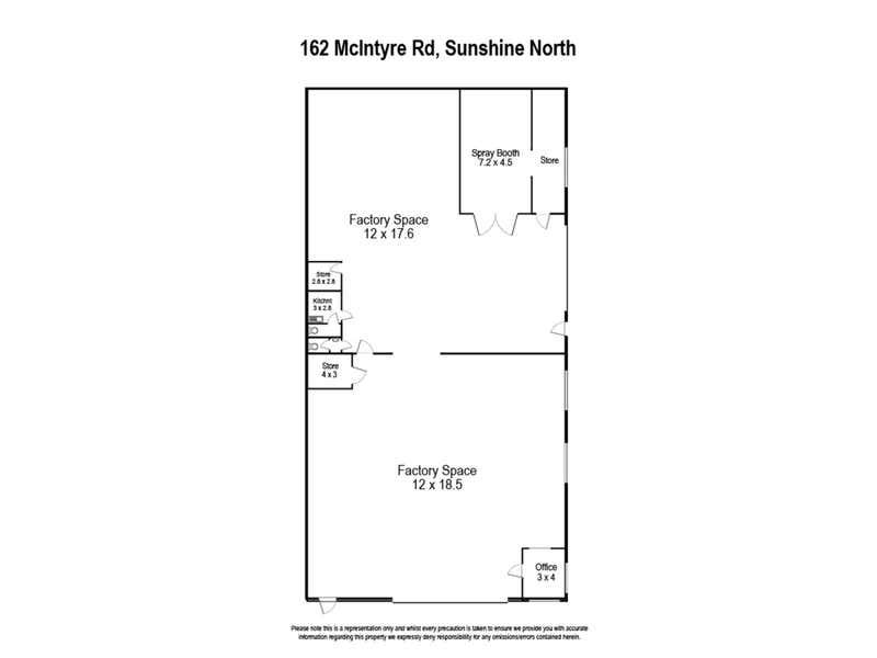 162 Mcintyre Road Sunshine North VIC 3020 - Floor Plan 1