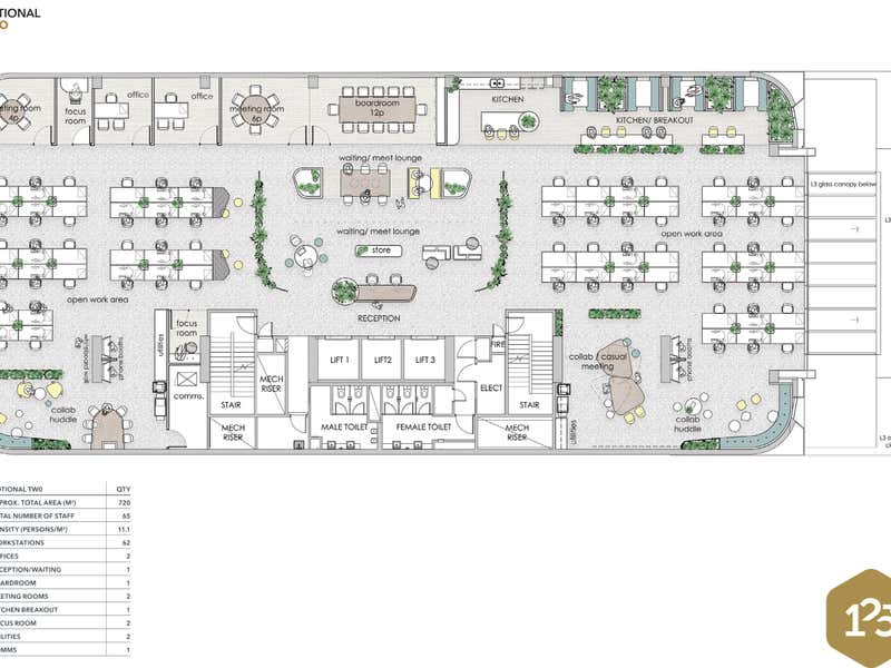 125 Murray Street Perth WA 6000 - Floor Plan 2