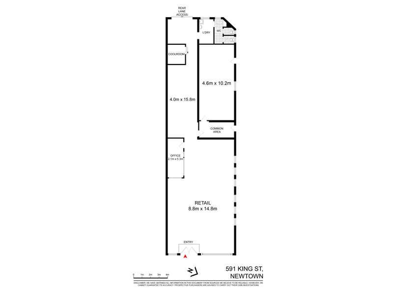 Shop 591 King Street Newtown NSW 2042 - Floor Plan 1