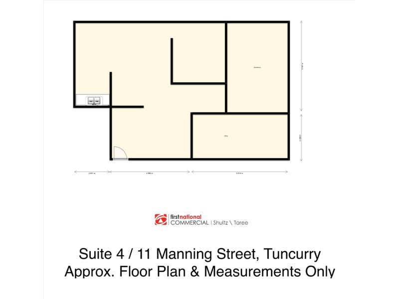 Suite 4/11  Manning Street Tuncurry NSW 2428 - Floor Plan 1