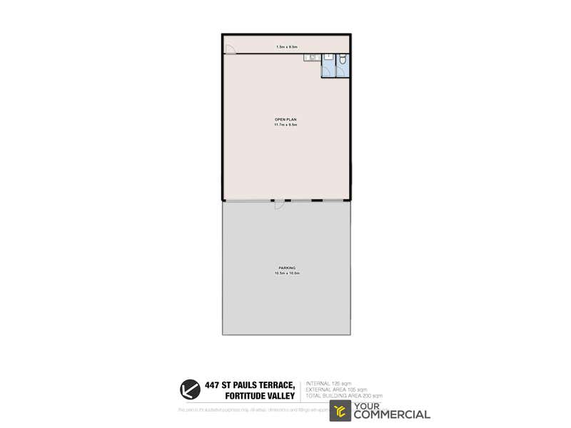 447 St Pauls Terrace Fortitude Valley QLD 4006 - Floor Plan 1