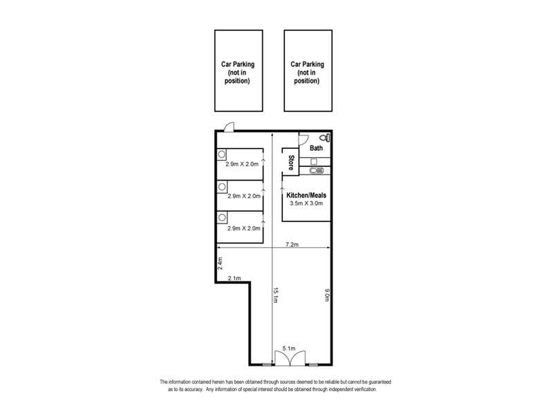 Shop 2, 323 Pascoe Vale Road Essendon VIC 3040 - Floor Plan 1