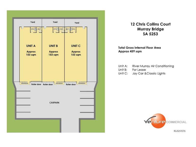 Unit A, 12 Chris Collins Court Murray Bridge SA 5253 - Floor Plan 2