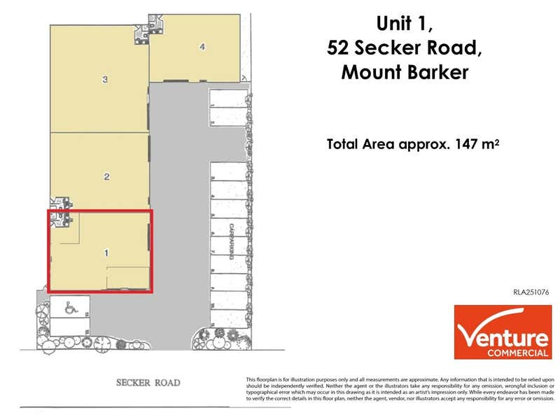 1/52 Secker Road Mount Barker SA 5251 - Floor Plan 1