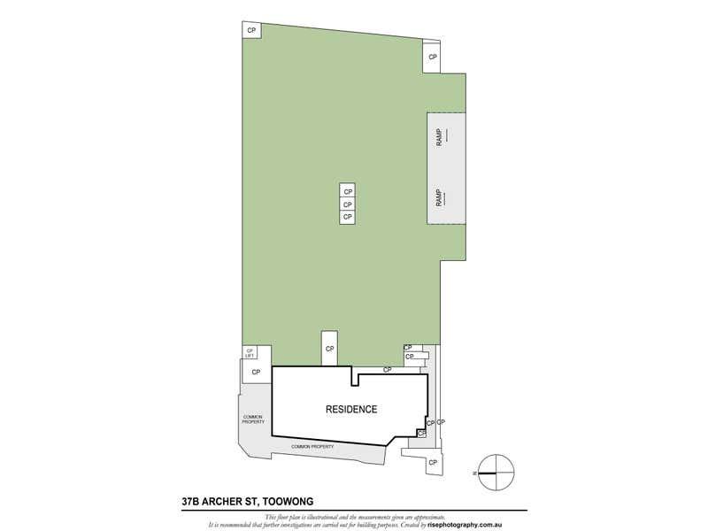 1/20 Benson Street Toowong QLD 4066 - Floor Plan 1
