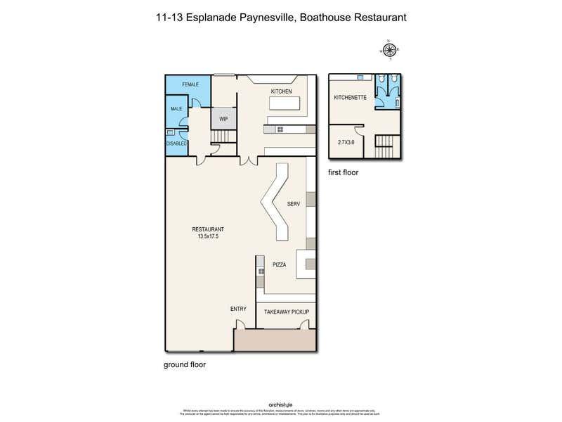 11-13 Esplanade Paynesville VIC 3880 - Floor Plan 1