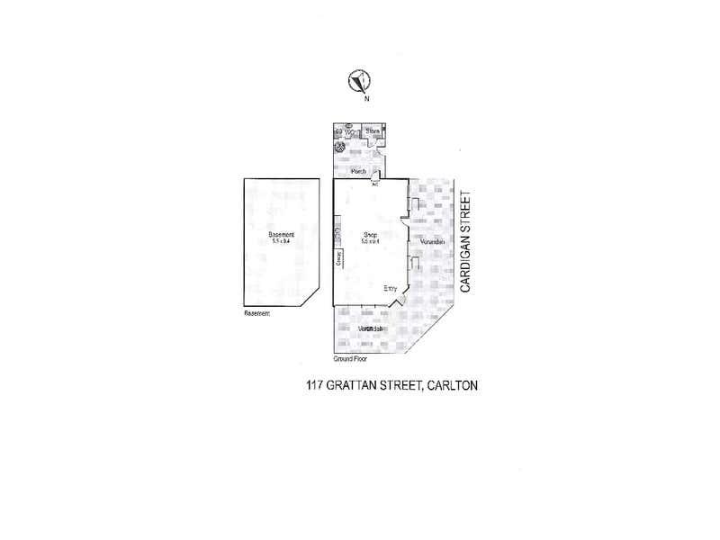 117 Grattan Street Carlton VIC 3053 - Floor Plan 1