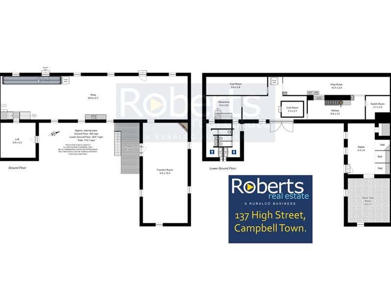137 High Street Campbell Town TAS 7210 - Floor Plan 1