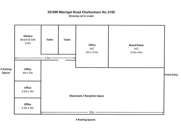 23/399 Warrigal Road Cheltenham VIC 3192 - Floor Plan 1