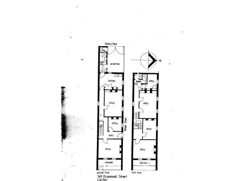 149 Drummond Street Carlton VIC 3053 - Floor Plan 1