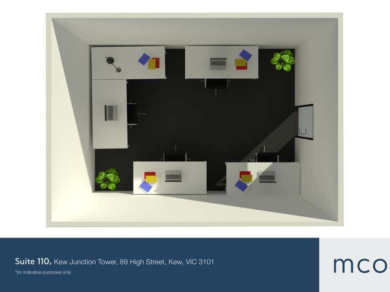 Kew Junction Tower, Suite 110, 89 High Street Kew VIC 3101 - Floor Plan 1