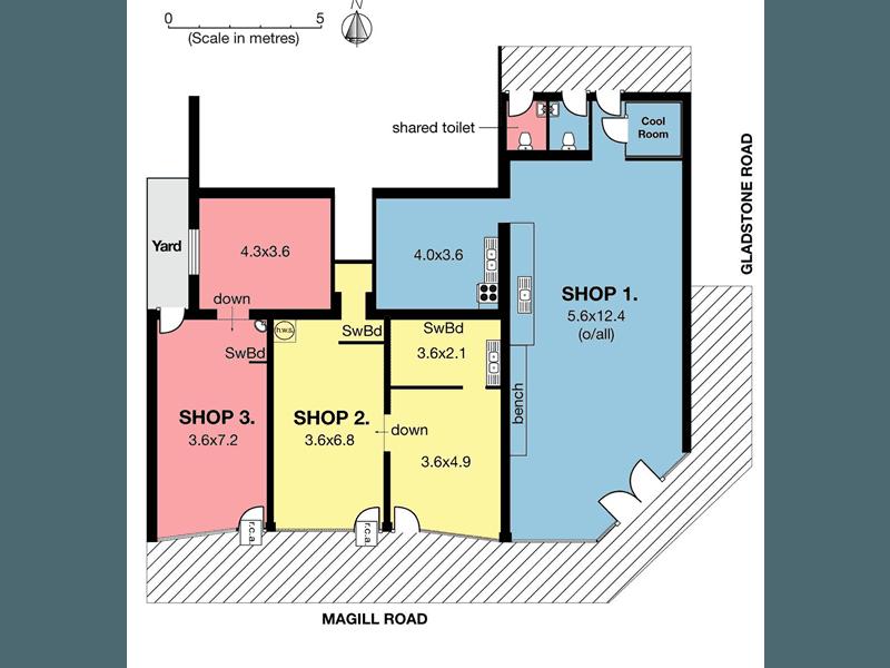 Shop 1, 523 Magill Road Magill SA 5072 - Floor Plan 1