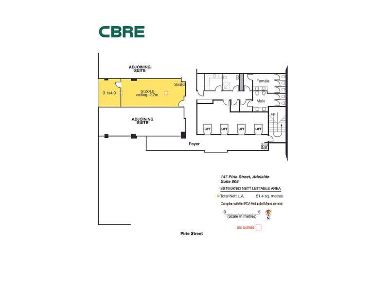 Suite 808, 147 Pirie Street Adelaide SA 5000 - Floor Plan 1