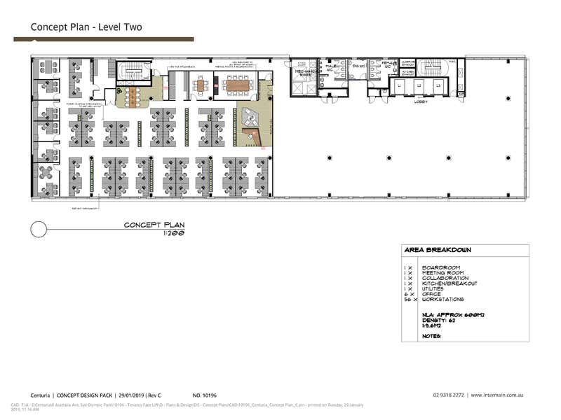 8  Australia Avenue Sydney Olympic Park NSW 2127 - Floor Plan 1