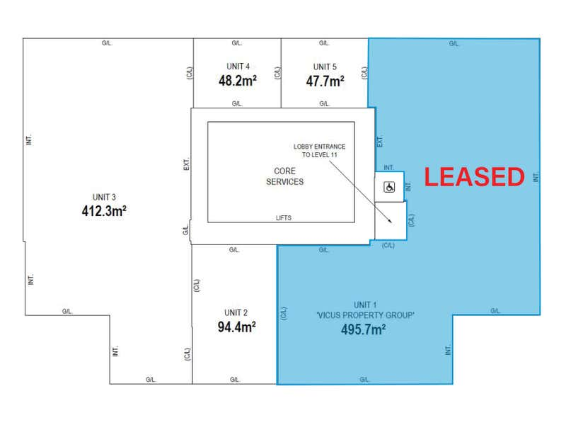12 St Georges Terrace Perth WA 6000 - Floor Plan 1