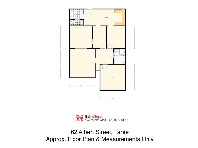 62 Albert Street Taree NSW 2430 - Floor Plan 1