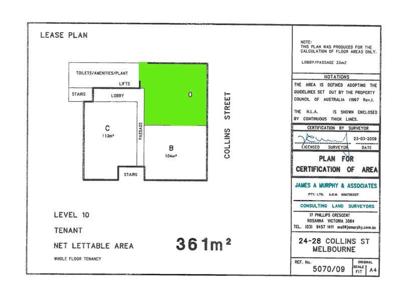 24 Collins Street Melbourne VIC 3000 - Floor Plan 2